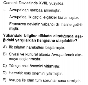 osmanlı devleti gerileme