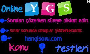 YGS Osmanlı Devleti Yükselme Dönemi Testi Online Çöz 2