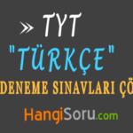 TYT Türkçe Deneme Sınavı Çöz